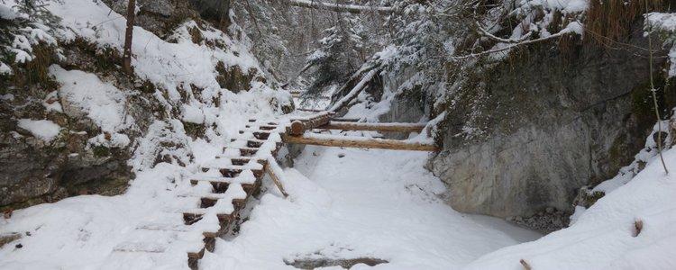 5. Zimný prechod Slovenským rajom - Ilustračná fotografia
