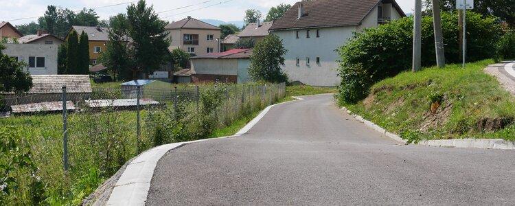 Rekonštrukcia ulice Slovenského raja (k rod. Šubovej) - Ilustračná fotografia