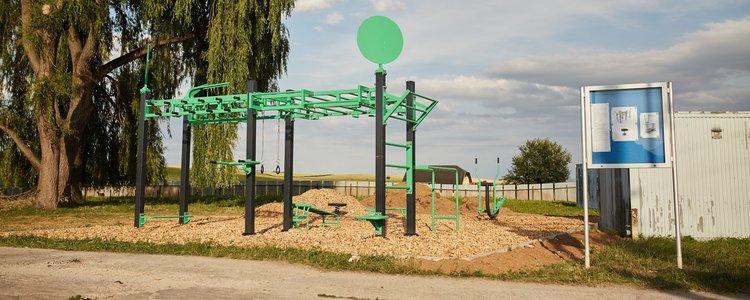 Street workoutové ihrisko v Letanovciach v prevádzke - Ilustračná fotografia