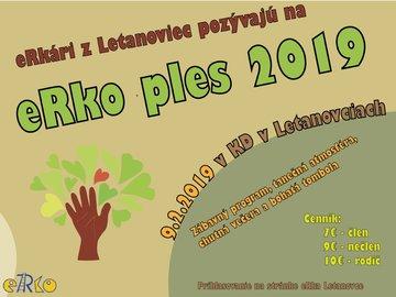 10. eRko ples - Plagát