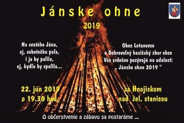 Jánske ohne - Plagát