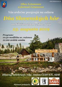 Deň slovenských hôr - Plagát