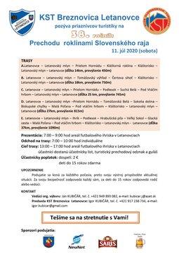 Prechod Slovenským rajom - Plagát